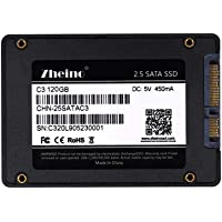 Zheino SATA SSD 120GB 内蔵SSD C3 2.5インチ 7mm厚 3D Nand 採用 SATA3 6Gb/s 3年保証