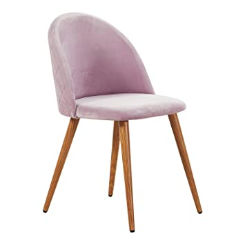pretty nice 53a32 5311f P&N Homewares® Lucia Velvet Chair (Light Pink) | For Dining ...