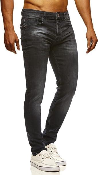 LEIF NELSON Hombre Jeans Vaqueros Unos Pantalones de ...