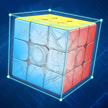 Alician Intelligent 3 x 3 High Speed Puzzle Cube Funny Toy