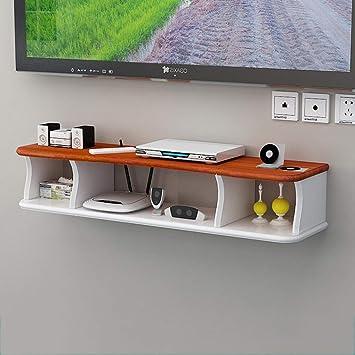 WLD Montado en la Pared Mueble de Tv Media Console para Router Wifi Tv Set-Top