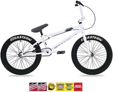 Oriental 2017 jabalina para bicicleta BMX bicicleta Color Blanco ...