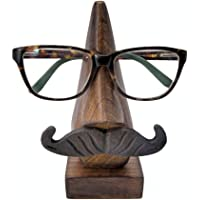 Stylla London® Wooden Handmade Whisker Shape Reading Spectacle Holder Stand Unusual Gift for Men and Women