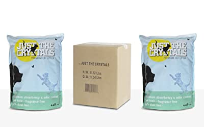 Just the Crystals Premium Crystal Cat Litter