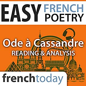 Ode à Cassandre (Easy French Poetry) Audiobook