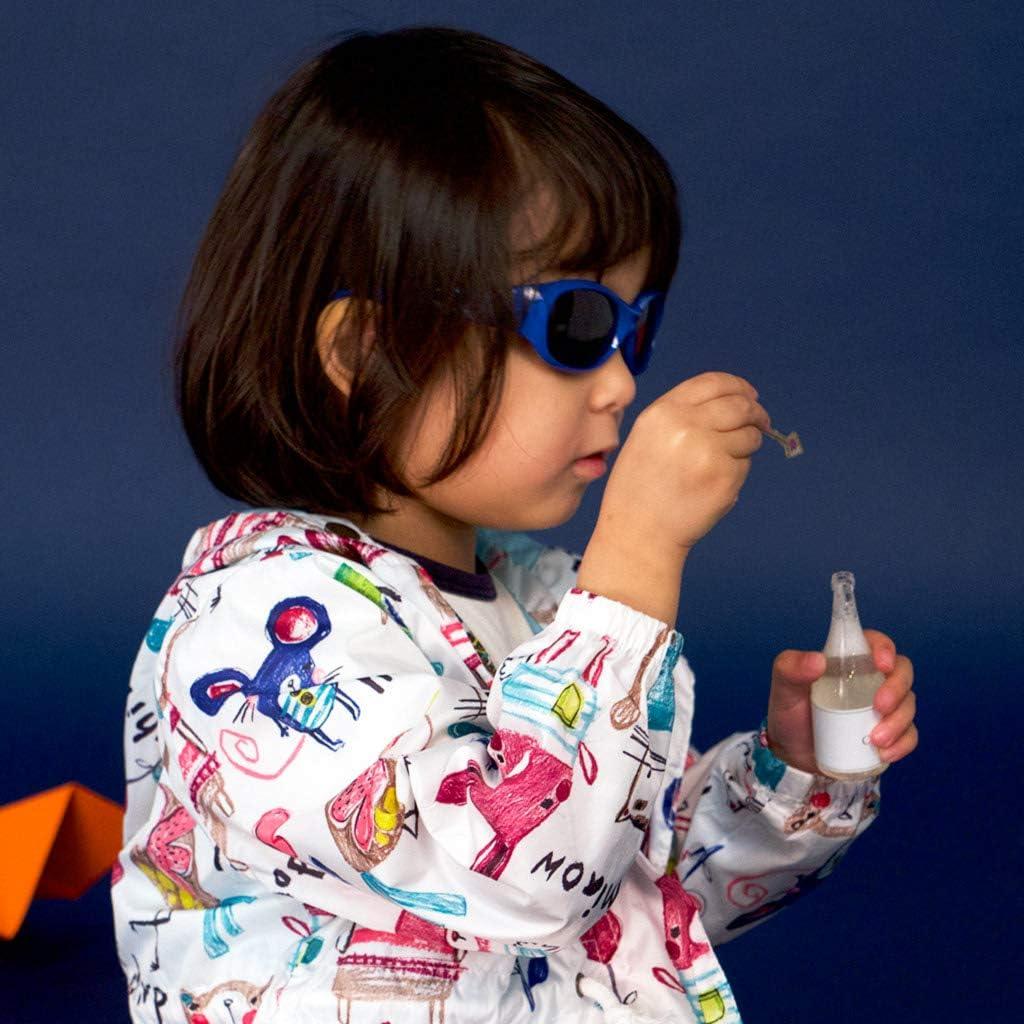 WangYanjun Baby M/ädchen Jungen Sonnenbrille mit abnehmbarem verstellbarem Riemen 100/% UV-Block S: 0-2 Jahre