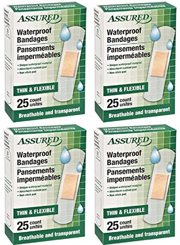 Waterproof Bandages, Breathable and Transparent, Thin and ()