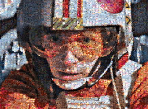 Buffalo Games Star Wars Photomosaic: Luke Skywalker- 1000 Piece Puzzle by Buffalo Games