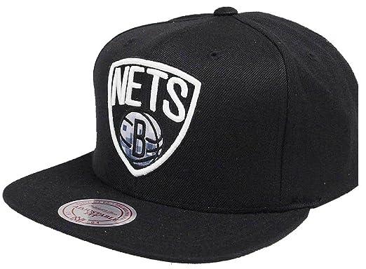... official mitchell ness nba brooklyn nets 348vz easy three digital xl snapback  cap black kappe basecap 4e31aaf35c3e