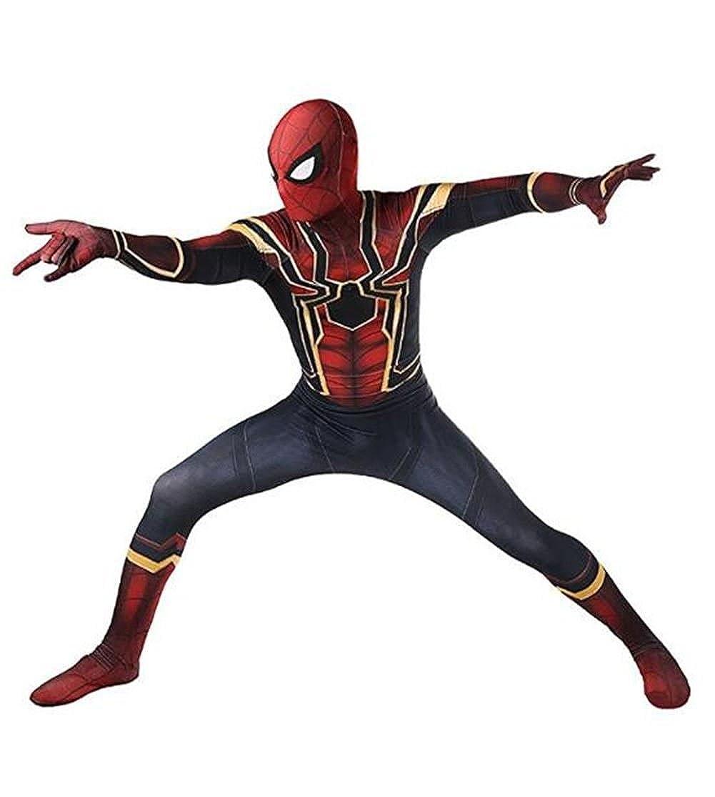 HBMaida Unisex Lycra Spandex Zentai Halloween Cosplay Costumes Adult/Kids 3D Style