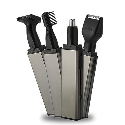 Afeitadora eléctrica para nariz y oído Super Cool 4 en 1 para ...
