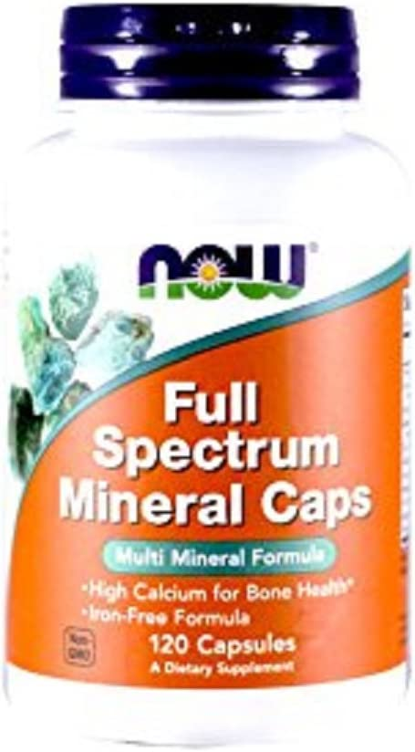 NOW Foods, Full Spectrum Mineral CAPS 120 CAPS: Health & Personal Care