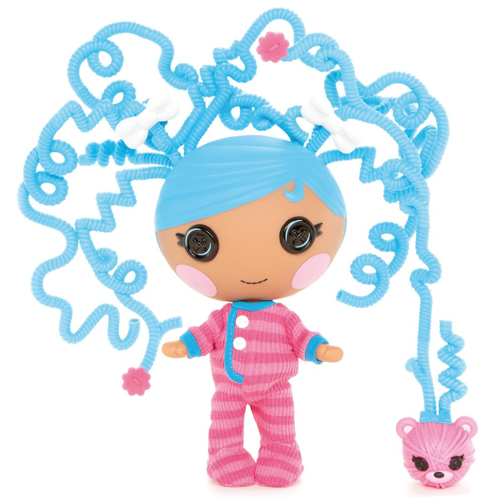 Amazon.com: Lalaloopsy Littles Silly Hair Doll, Bundles Snuggle ...