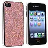 4 Bling Glitter Hard Case Skin compatible with iPhone® 4 4G Version iPhone® 4S - AT&T, Sprint, Version 16GB 32GB 64GB, with 2 screen protector free