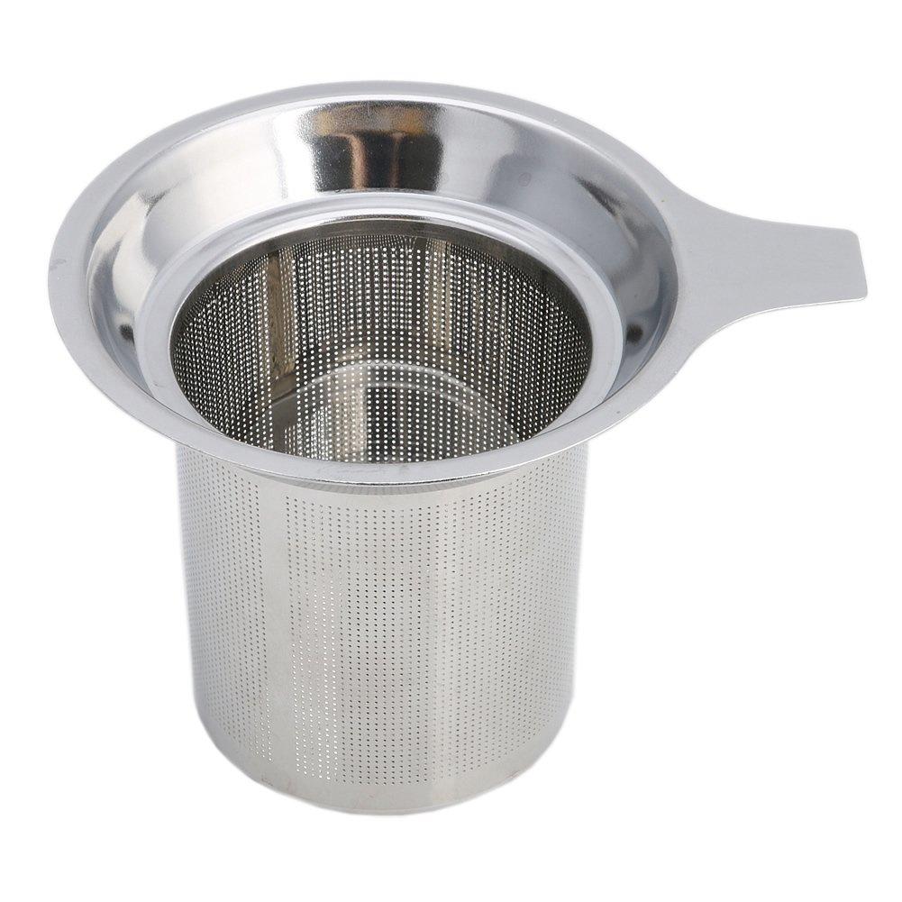 Kangnice Stainless Steel Mesh Tea Infuser Metal Cup Strainer Loose Tea Leaf Filter Sieve
