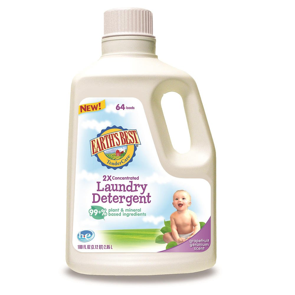 Earth's Best Laundry Detergent - 100 oz. Hain Celestial Group C10723