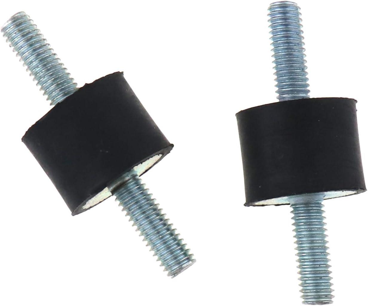 ENET 4 St/ück Gummi-Halterungen M6 M8 Anti-Vibration Gummi Halterungen Isolator Spule Auto Sto/ßd/ämpfer MF M8 20x30mm