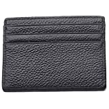 #7: Linscra Leather RFID Blocking Minimalist Credit Card Holder Slim Pocket Wallets for Men & Women
