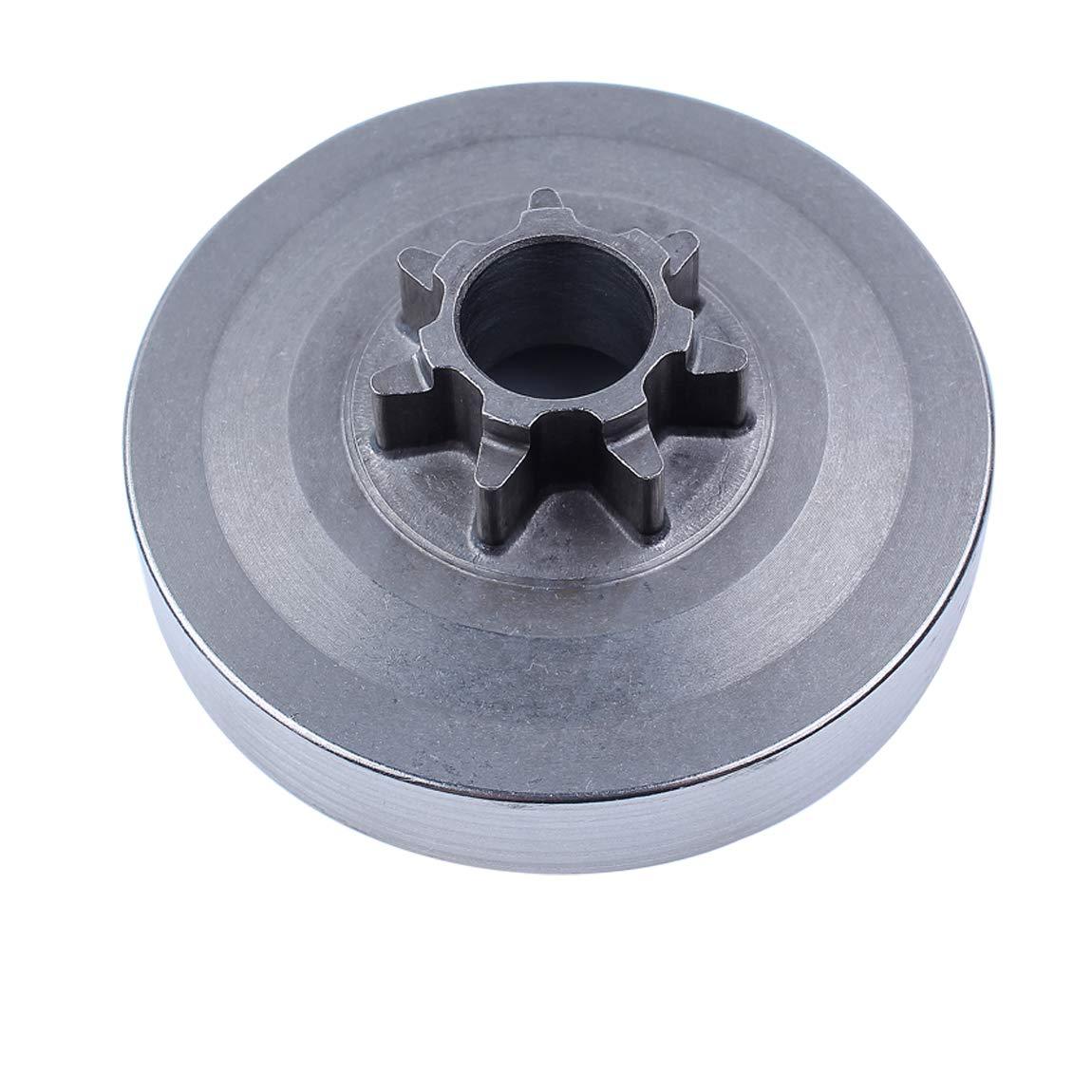 Haishine .325 Kit de Bomba de Aceite del Tambor de Embrague Fit Chino 45cc 52cc 58cc 4500 5200 5800 Motosierra