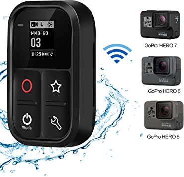 Control Remoto Wifi Mano Muñeca Correa Para GoPro Hero 8 7 6 5 Negro WIFI Remoto Control