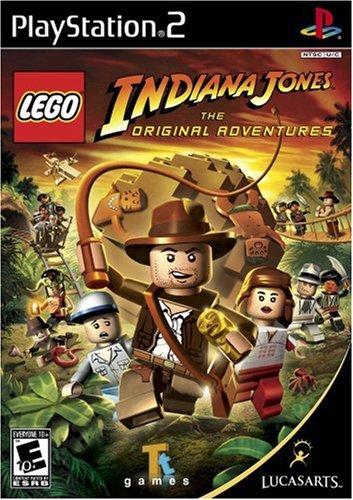 Lego Indiana Jones: The Original Adventures - PlayStation 2 (Best Ps2 Adventure Games)