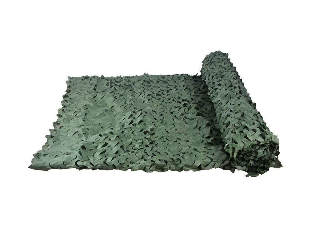 5m6m Filet de camouflage oxford Le Soleil Caché Par Camouflage Vert Pur Tire La Voiture De Prougeection Extérieure De Camping De HalFaibleeen, Multi-taille pour les jardins d'ombre extérieurs ( Taille   4m6m )