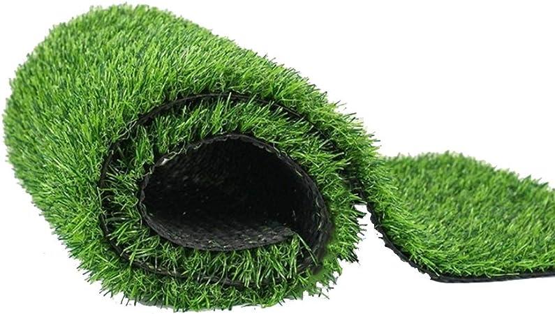 YNFNGXU Césped Artificial Exterior Césped Artificial Verde Jardín Natural Realista Limpio Verde Vigoroso 25 Mm Altura De Pila 1 M * 2 M (Tamaño : 2x7m): Amazon.es: Hogar