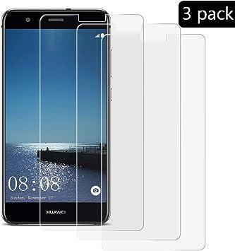 XCYYOO [3-Pack]para Huawei P10 Lite Protector de Pantalla, Cristal ...