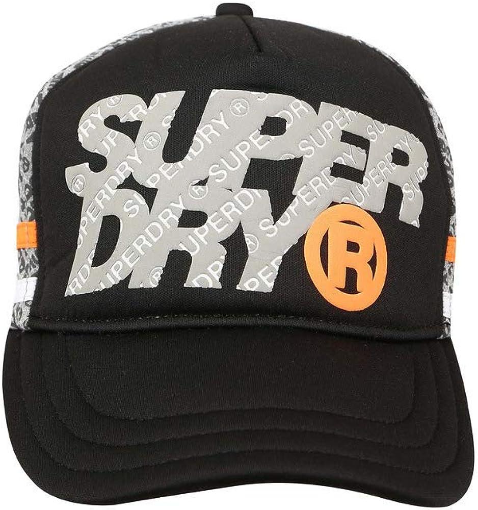 Superdry Gorra Zac Negro Hombre U Negro: Amazon.es: Ropa y accesorios