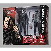 Walking Dead Negan and Glenn Black and White Action Figure 2-Pack- San Diego Comic-Con 2016 Exclusive