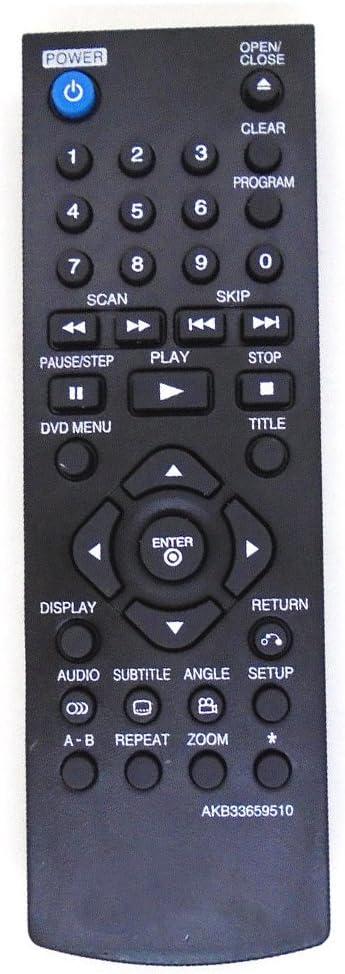 allimity AKB72915244 Reemplazo de control remoto para LG LED/LCD/PLASMA TV 19LE5300 22LE5300 22LE5500 22lv250u 26LD350 26LE5300 26LE5500 26lk330u 26lk335c 26lv250u 32LD420 32LD450 32LD520 32LD550: Amazon.es: Electrónica