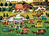 Buffalo Games Rally at Dandelion Mill by Charles Wysocki Jigsaw Puzzle (1000 Piece)