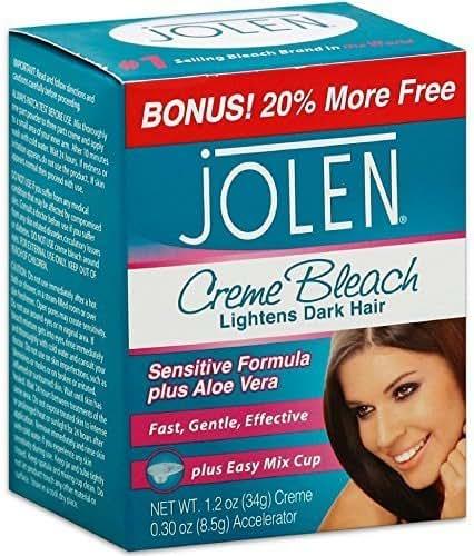 Hair Color: Jolen Creme Bleach Sensitive Formula Plus Aloe Vera
