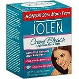 Jolen Creme Bleach Mild Formula Plus Aloe Vera 1/4 oz (Pack of 2)