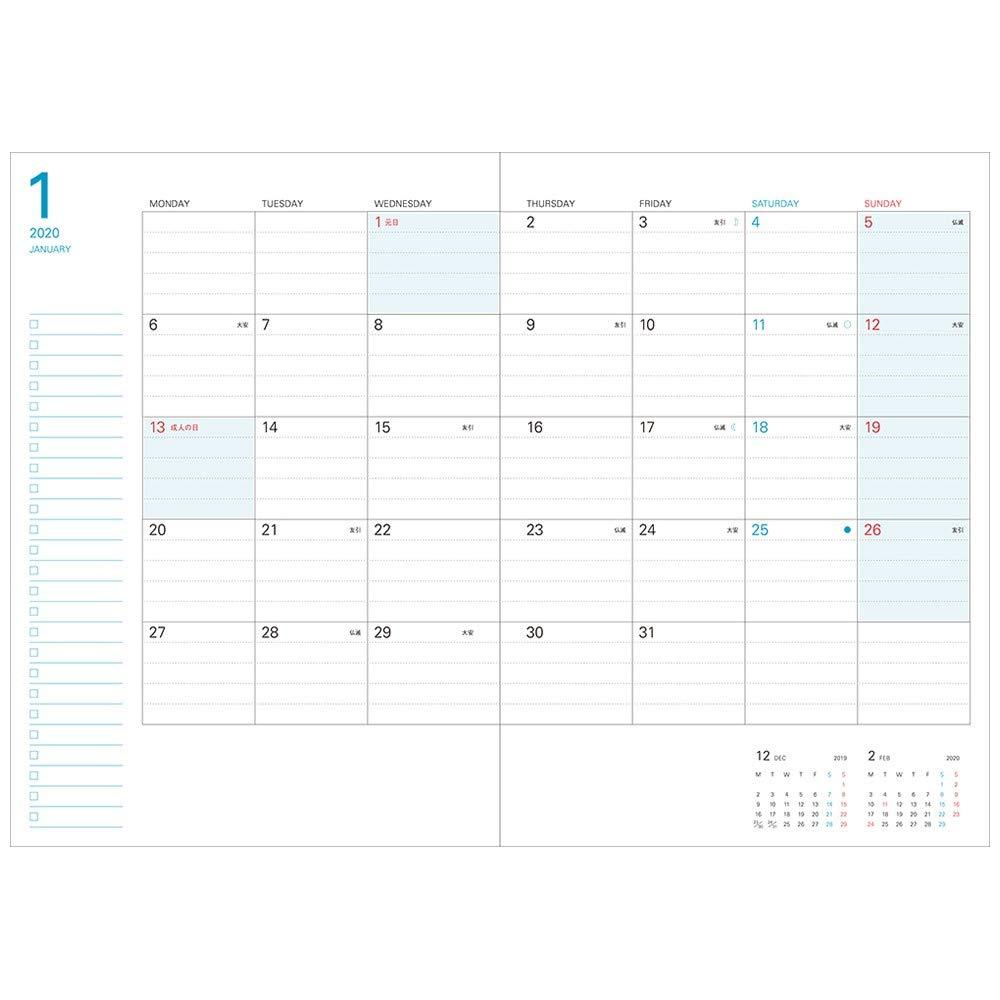 Amazon.com: Marks Notebook 2020 - Agenda mensual (principios ...