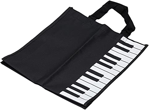 Music Design Cotton Bag Rucksack Piano Keys Handtasche Music Score Bag Geschenk