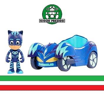 PJ Masks - Gatuno con Gatauto - vehículo grande con 3 plazas