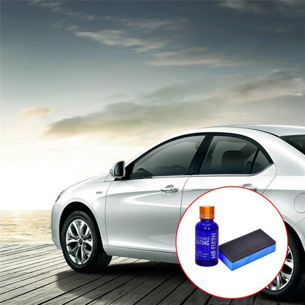 Fabal Car Super Hydrophobic Glass Coating Car Liquid Ceramic Coat Auto Paint Care (2pcs)