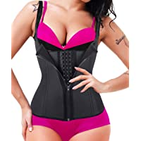 GainKee Clip and Zip Waist Trainer Corset Women Neoprence Worked Out Sweat Vest