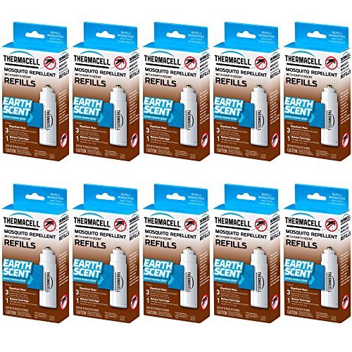 (Thermacell Mosquito Repellent Refills (Earth Scent / 10-Pack))