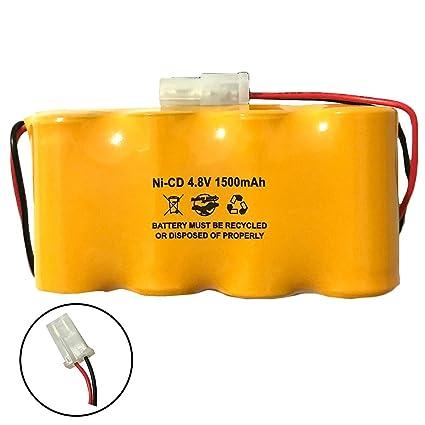 Lithonia Elb0501n Elb4814n Prescolite Enb048015 Dantona Custom 45 Elb0501n1 4 8v 1500mah Nicad Battery