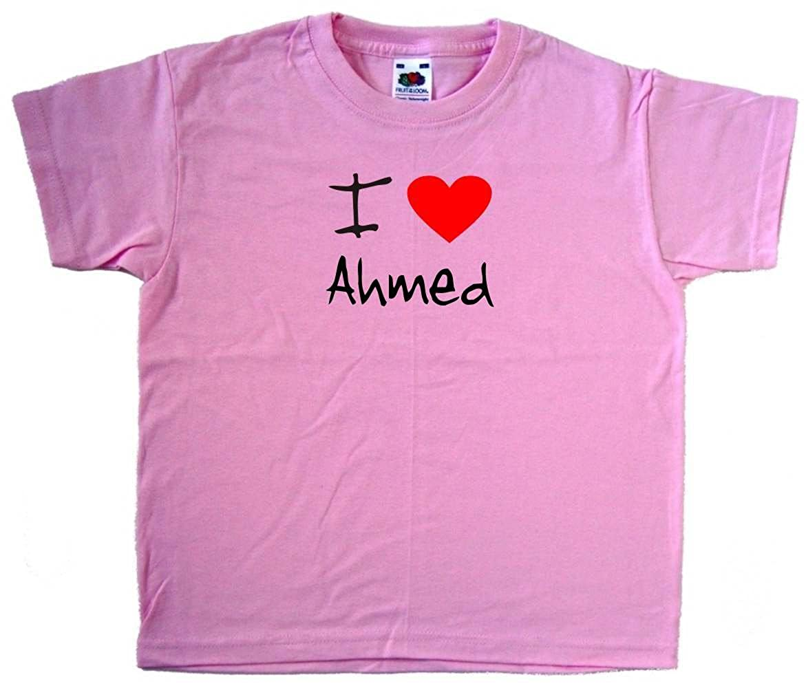 I Love Heart Ahmed V-Neck T-Shirt