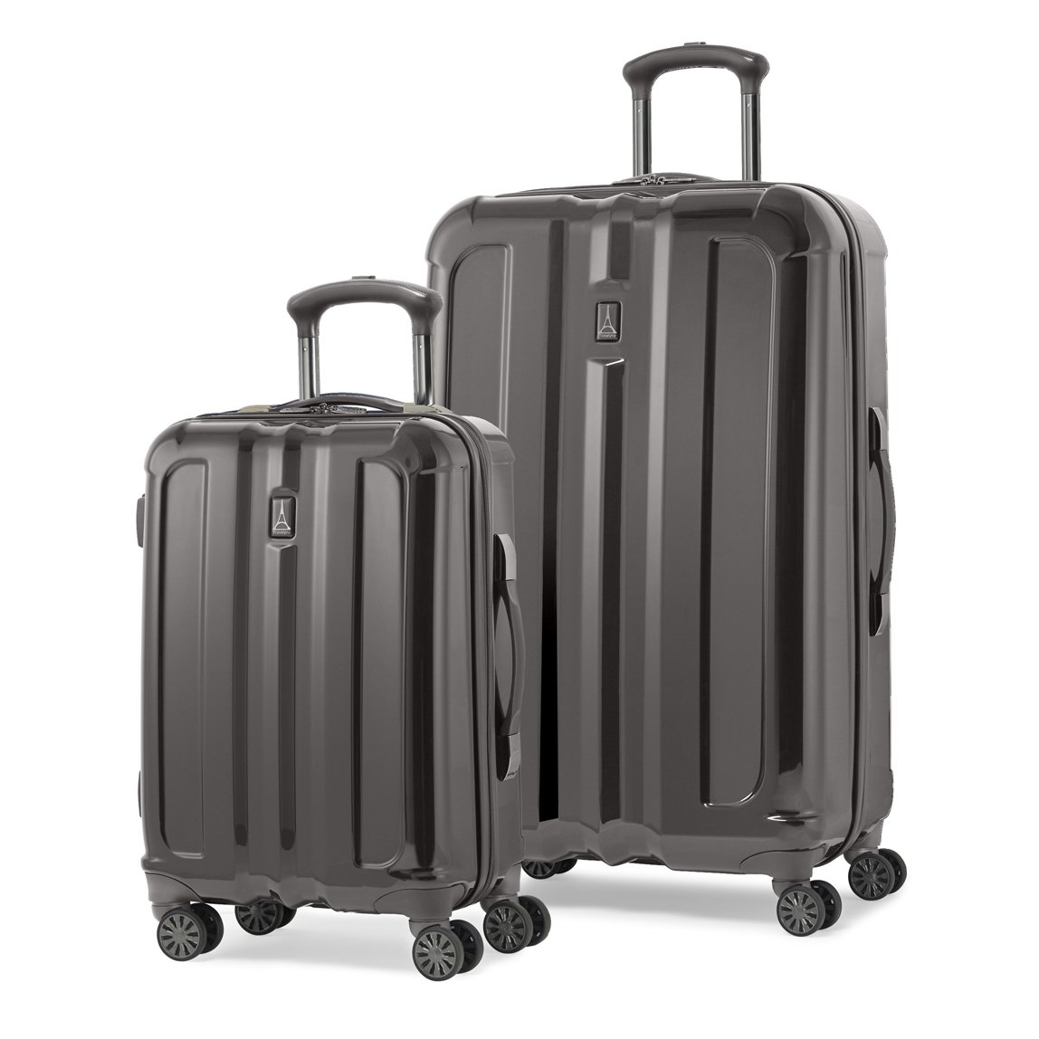 Travelpro Inflight Lite Two-Piece Hardside Spinner Set (20''/29'') (Exclusive to Amazon), Gunmetal Grey