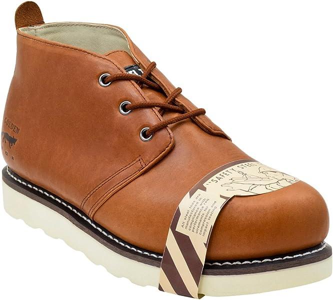 Golden Fox Steel Toe Work Boot 5 quot  Safety Chukka Boot for Construction  Size 7.5 D 3ecd089fe