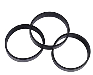 Podoy 301291 Vacuum Cleaner Belts Compatible with for Kirby All Generation Series Models G3, G4, G5, GSix, G7, Ultimate G, Diamond, Sentria, and Avalir (Pack of 3)