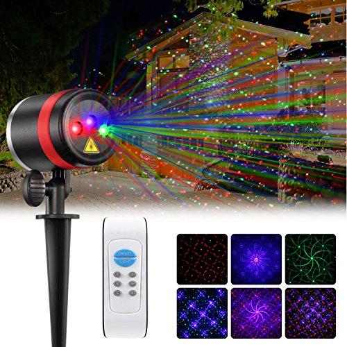 NEXGADGET Lighting Projector Waterproof Decoration