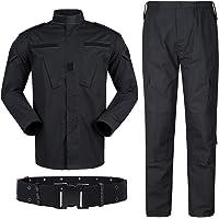 QMFIVE Uniformes tácticos Camuflaje Camo Camo Combat BDU Chaqueta Camisa y Pantalones Uniforme Juego de Guerra Ejército…