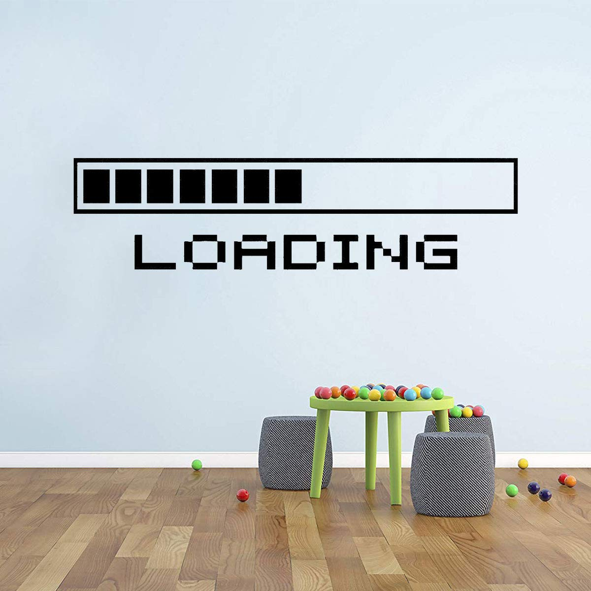 PICTURE IT ON CANVAS Loading a Video Game Wall Poster Decal Cool Gamer Stuff Computer Wall Stickers Murals Home Decor Accents by PICTURE IT ON CANVAS (Image #4)
