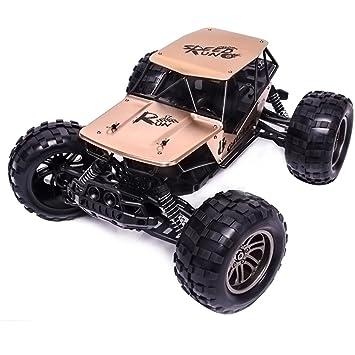 Vehículo Todoterreno A Control Remoto 1:12 Mecánico De Metal De Dos Ruedas De Escalada