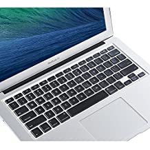 COOSKIN® TPU Keyboard Protector Cover Skin for Macbook Pro 13 15 17 Inch & Air 13 inch Apple Wireless Keyboard Ultra Thin Clear Soft Protect (Universal)